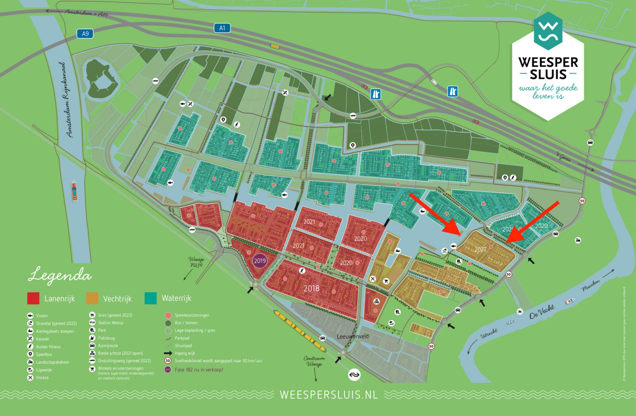 Kaart Weespersluis